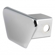 """Curt Manufacturing 2\\"""" Chrome Steel Hitch Tube Cover (Packaged)  NT72-1746  - Receiver Covers"""
