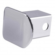 """Curt Manufacturing 2\\"""" Chrome Plastic Hitch Tube Cover (Packaged)  NT72-1748  - Receiver Covers"""