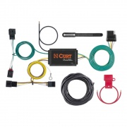 Curt Manufacturing Custom Wiring Harness (4-Way Flat Output)  NT72-2493  - T-Connectors - RV Part Shop USA