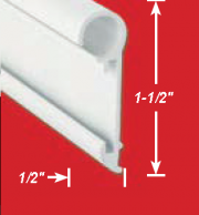 AP Products Inverted Insert Awning Rail  CP-AP1174  - Awning Parts & Accessories