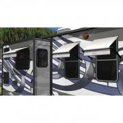 Lippert Solera Window Awnings  CP-LC1124  - Window/Door Awnings - RV Part Shop USA