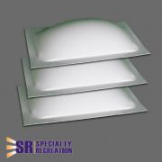 "Specialty Recreation Skylight 3-Packs 14\\""X22\\""  CP-SR1140  - Skylights - RV Part Shop USA"