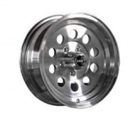 Americana 16X7 Trailer Wheel Mini Modular 8H-6.5 Aluminum   NT17-0383  - Wheels and Parts - RV Part Shop USA