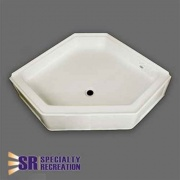 Specialty Recreation Neo Shower Base 34X34 Front Center Drain   NT10-1879  - Tubs and Showers
