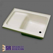 Specialty Recreation Step Tub 24 X 40 Right Hand Parch  NT10-1813  - Tubs and Showers - RV Part Shop USA