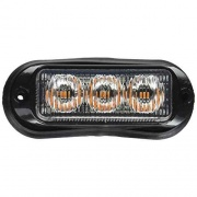 Buyers Products LIGHT,STROBE,3-7/8IN,3 LED, AMBER,  NT62-2340  - Emergency Warning - RV Part Shop USA
