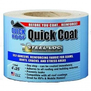 "Cofair Products 4\""X25' Quick Roof Quick Coat  NT13-1918  - Roof Maintenance & Repair"