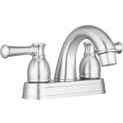 Dura Faucet Arc Spout Lav Brushed Nickel   NT10-0660  - Faucets