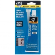DAP 100% Silicone W & D Clear  NT13-2106  - Glues and Adhesives - RV Part Shop USA