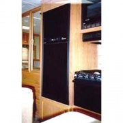 FRV FRV Refrigerator Door Panels Black Acrylic lic   NT07-0631  - Refrigerators - RV Part Shop USA