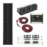 Zamp Solar 90 WATT DELUXE SOLAR KIT  NT62-2637  - Solar - RV Part Shop USA