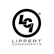 Lippert Unversal Awning Fabric 19 ft. Burgundy Fade White Wrap  NT90-2101  - Patio Awning Fabrics - RV Part Shop USA
