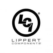 Lippert Unversal Awning Fabric 12 ft. Blue Fade White Wrap  NT90-2045  - Patio Awning Fabrics - RV Part Shop USA