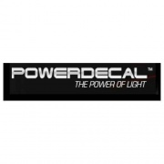 Power Decal Indiana Chrome Frame   NT70-0494  - Exterior Accessories