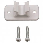 AP Products Door Catch Female Piece Only White  NT21-1216  - Hardware - RV Part Shop USA