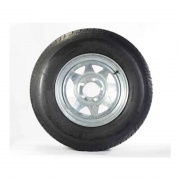 Americana 480-12 Tire C/5H Trailer Wheel Spoke Galvanized   NT17-0200  - Trailer Tires - RV Part Shop USA