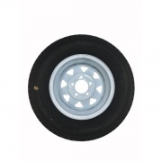 Americana 175/80R13 C/5H Trailer Wheel Spoke White Striped   NT21-0025  - Trailer Tires - RV Part Shop USA