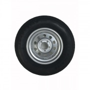 Americana ST205/75R15 Tire C/5H Trailer Wheel Mini Modular Silv   NT17-0227  - Trailer Tires - RV Part Shop USA
