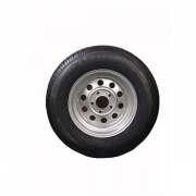 Americana 205/75R15C/5H-5 Trailer Wheel Mini Modular Silver   NT17-0509  - Trailer Tires - RV Part Shop USA