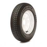 Americana 185/80D13 Tire C/5H Trailer Wheel Spoke White Striped   NT17-0455  - Trailer Tires - RV Part Shop USA
