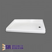 Specialty Recreation Shower Pan 24 X 40 White  NT10-1843  - Tubs and Showers