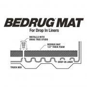 Bedrug Ram Drop In Mat 6.25'   NT25-0215  - Bed Accessories - RV Part Shop USA