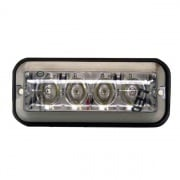 Buyers Products LIGHT,STROBE,4-7/8IN RECT,4LED,AMBE  NT72-7524  - Emergency Warning - RV Part Shop USA