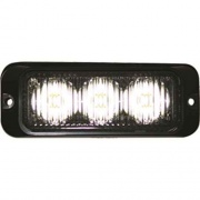 "Buyers Products 3.86\"" WHITE LED MINI STROBE (EACH)  NT62-2339  - Emergency Warning - RV Part Shop USA"