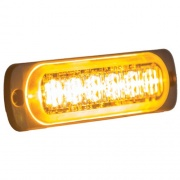 Buyers Products LIGHT,STROBE,4-3/8IN,6-LED,AMBER  NT72-7529  - Emergency Warning - RV Part Shop USA