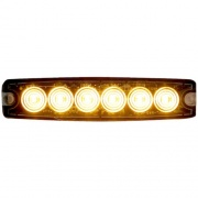 Buyers Products LIGHT,STROBE,5-1/8IN,6-LED,AMBER  NT72-7531  - Emergency Warning - RV Part Shop USA
