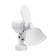 Caframo Ultimate 12V Lighter Plug Fan for Boats and Campers. White  NT22-0543  - Interior Ventilation - RV Part Shop USA