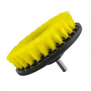 Chemical Guys Brush MD Medium Duty Carpet Brush with Drill Attachment, Yellow  NT15-5017  - Carpet Protection - RV Part Shop USA