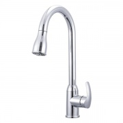 Dura Faucet RV Pull-Down Kitchen Faucet (Chrome)  NT10-3812  - Faucets - RV Part Shop USA