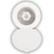Dura Faucet Exterior Spray Dock - White  NT10-1222  - Faucets - RV Part Shop USA