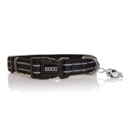 Doog USA COLLAR BLK REFLCT STRI MD  NT72-5349  - Pet Accessories - RV Part Shop USA