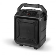 Digital Wireless Tailgate Party Speaker, with Built-in Rechargeable Battery and Roller Wheels, Black  NT82-8778  - Audio CB &...