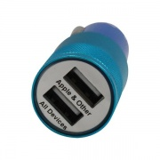 ESI Cases Dual Usb Car Charger Blu  NT72-3117  - Cellular and Wireless - RV Part Shop USA