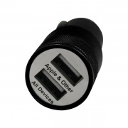 ESI Cases DUAL USB CAR CHARGER BLK  NT72-3118  - Cellular and Wireless - RV Part Shop USA
