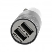 ESI Cases DUAL USB CAR CHARGER WHT  NT72-3119  - Cellular and Wireless - RV Part Shop USA