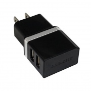 ESI Cases DUAL USB AC CHARGER BLK  NT72-3124  - Cellular and Wireless - RV Part Shop USA