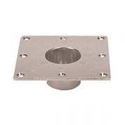 Faulkner RECESSED BASE-SQUARE  NT72-6196  - Hardware - RV Part Shop USA