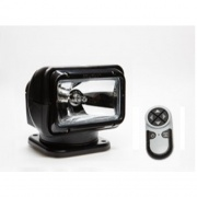 Golight RadioRay Permanent Mount Searchlight with Wireless Remote, Black  NT62-4386  - Flashlights/Worklights - RV Part Shop USA