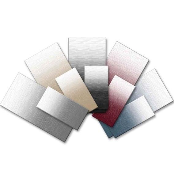 Power Awning Awning Standard Vinyl Silver Fade 17'