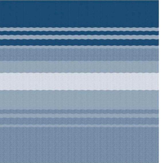Fiesta Springload Awning Awning Ocean Blue Stripe 18'