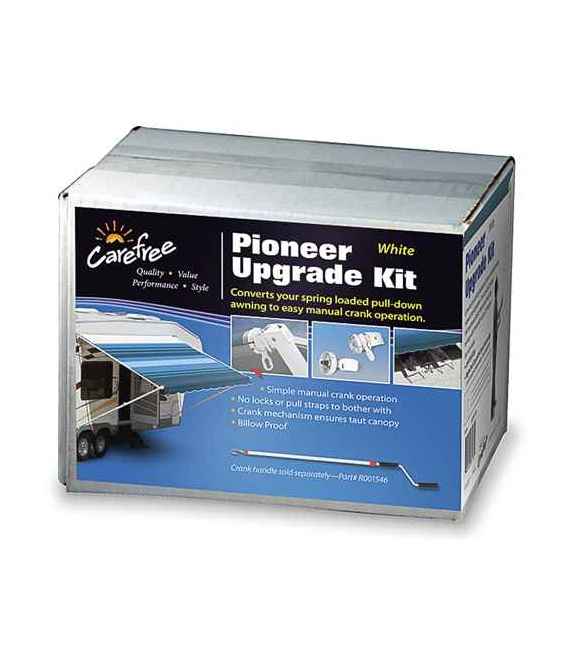 Endcap Upgrade Kit Pioneer White