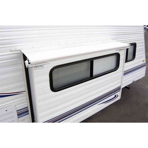 "Slideout Cover Awning 125"" White"