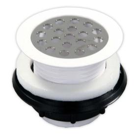 Plastic Shower Strain White