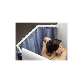 Extend-A-Shower Curtain Rod