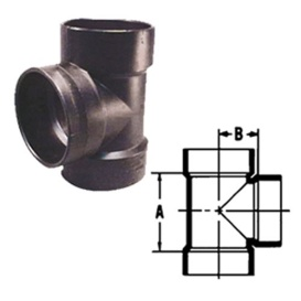 1-1/2 Inch ABS Vent Tee