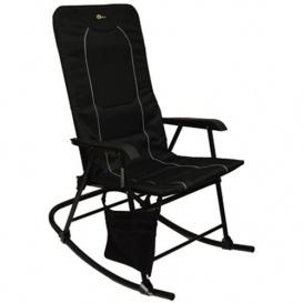 Dakota Folding Rocking Chair Black/Black